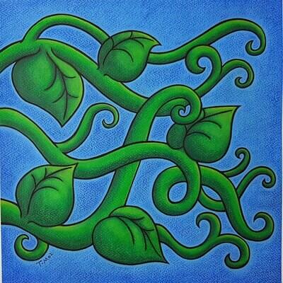 Spring Tendrils (original)