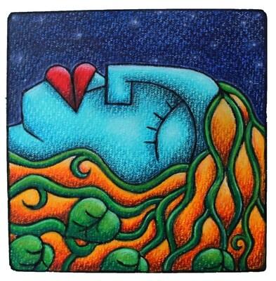 Sweet Dreams (Framed original)