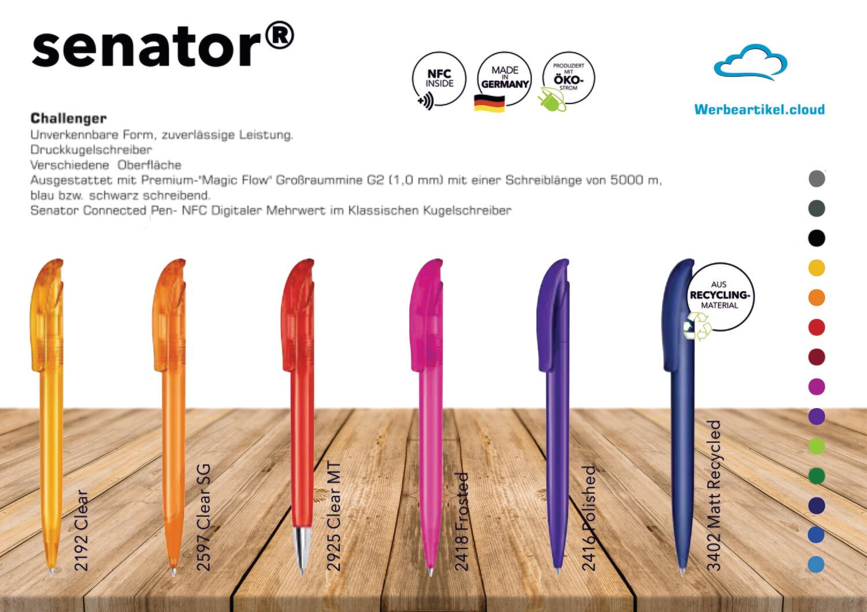 NFC-Kugelschreiber | SENATOR Challenger