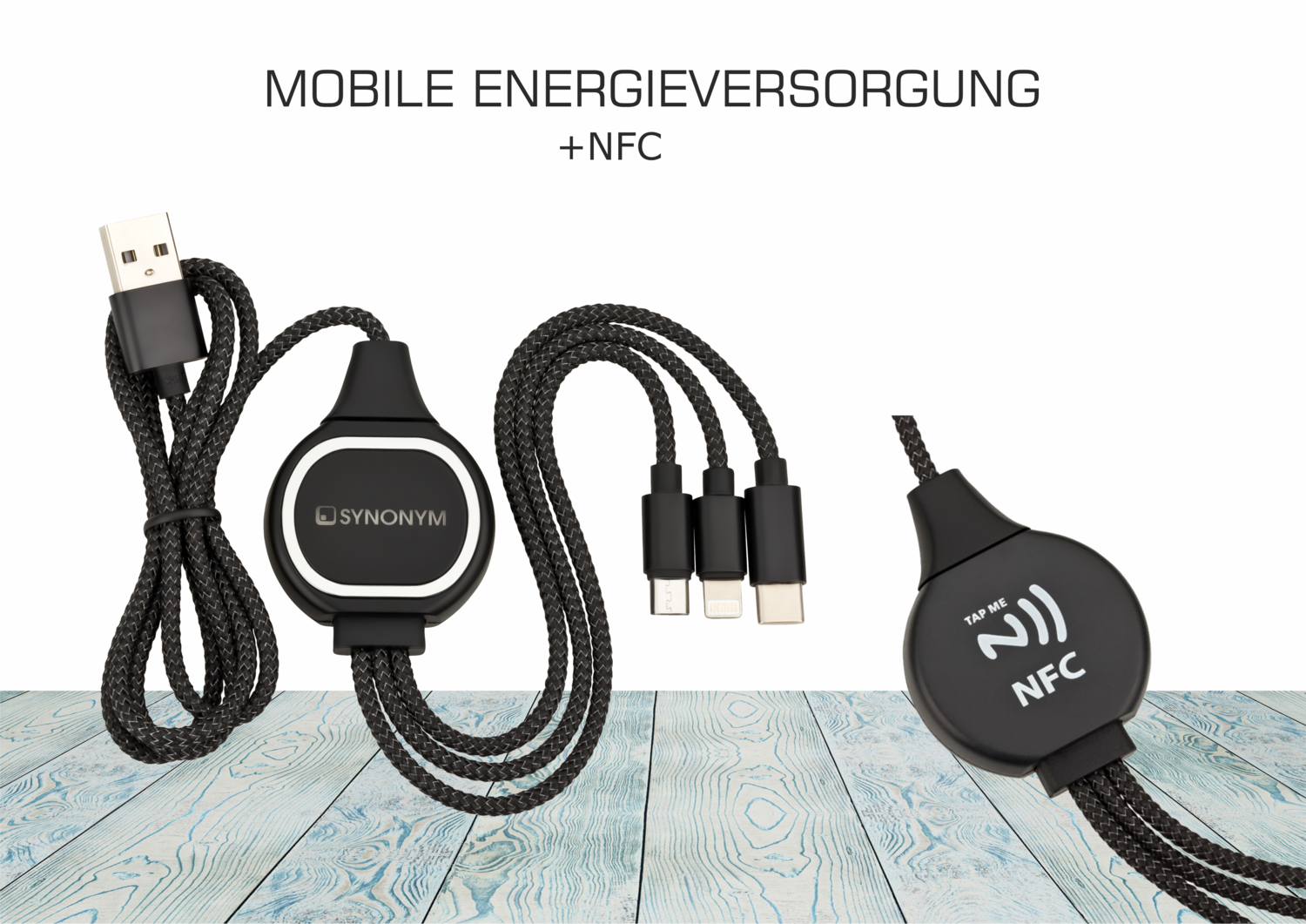 NFC-Ladekabel 3-IN-1