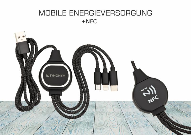 NFC-Ladekabel 3-IN-1 FUTURE
