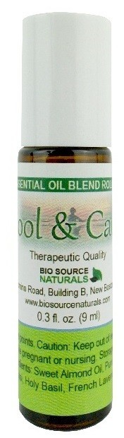 Cool & Calm Essential Oil Blend - 0.3 fl oz (9 ml) Roll On