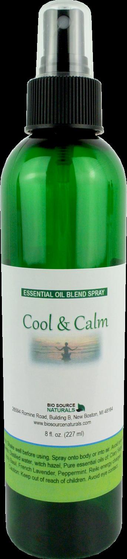 Cool & Calm Essential Oil Blend Spray- 8 fl oz (227 ml)