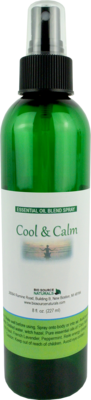 Cool & Calm Essential Oil Blend Spray- 8 fl oz (227 ml)