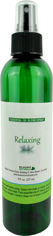 Relaxing Essential Oil Blend  Spray - 8 fl oz (227 ml)
