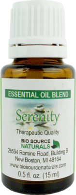 Serenity Essential Oil Blend