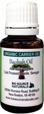 Baobab, Organic Carrier Oil - 1 fl oz (30 ml)