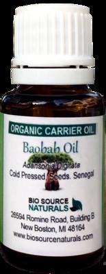 Baobab, Organic Carrier Oil - 1 fl oz (30 ml)