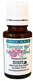 Energize Me! Fatigue Essential Oil Blend
