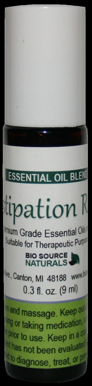 Constipation Rescue Essential Oil Blend - 0.3 fl oz (9 ml) Roll On