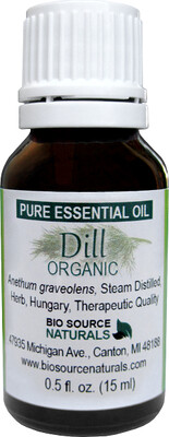 Dill, Organic Pure Essential Oil