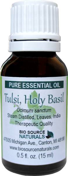 Tulsi, Holy Basil Pure Essential Oil