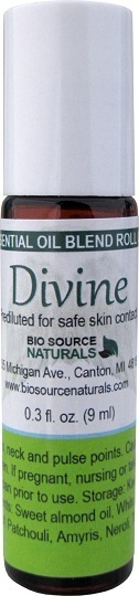 Divine Essential Oil Blend - 0.3 fl oz (9 ml) Roll On