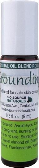 Grounding Essential Oil Blend - 0.3 fl oz (9 ml) Roll On