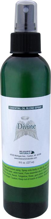 Divine Essential Oil Blend - 8 fl oz (227 ml) Spray