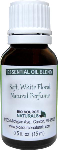Soft, White Floral Essential Oil Blend