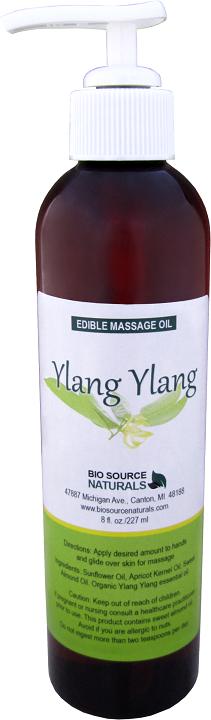 Edible Ylang Ylang I Massage Oil 8 fl oz (227 ml)