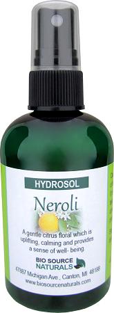 Hydrosol Neroli – Calming Spray 4 fl oz (120 ml)