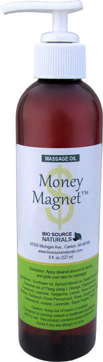 Money Magnet Massage Oil 8 fl oz (227 ml)