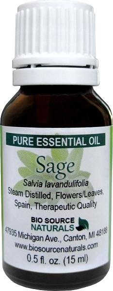 Sage Pure Essential Oil  (Spanish)