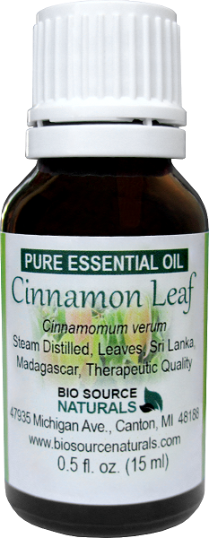 Cinnamon Leaf Pure Essential Oil with Analysis Report