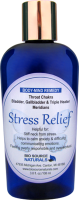 Stress Relief Body-Mind Lotion 3.8 fl oz (112 ml)