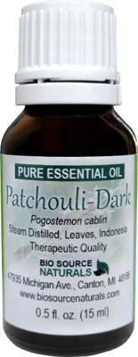 Patchouli, Dark Pure Essential Oil