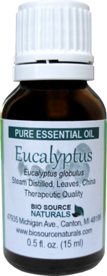 Eucalyptus Globulus Pure Essential Oil