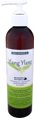 Edible Ylang Ylang I Massage Oil 8 fl oz (227 ml)