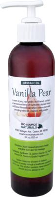 Vanilla Pear Massage Oil 8 fl oz (227 ml)