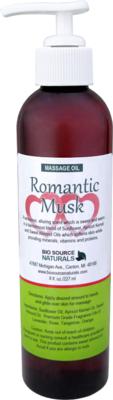 Romantic Musk Massage Oil 8 fl oz (227 ml)