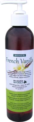 French Vanilla Massage Oil 8 fl oz (227 ml)