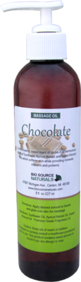 Chocolate Massage Oil 8 fl oz (227 ml)