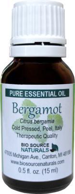 Bergamot (Bergaptene Free) Pure Essential Oil