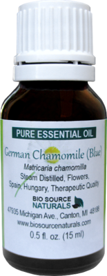 German Chamomile Pure Essential Oil (Blue)