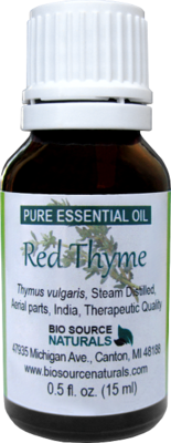 Thyme, Red Pure Essential Oil CT Thymol