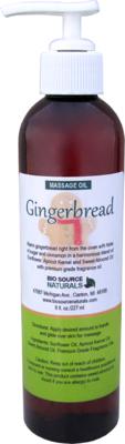 Gingerbread Massage Oil 8 fl oz (227 ml)