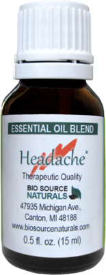 Headache Relief Essential Oil Blend