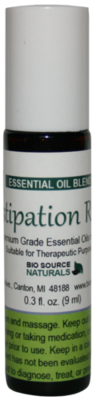 Constipation Rescue Essential Oil Blend - 0.3 fl oz (9 ml) Roll On