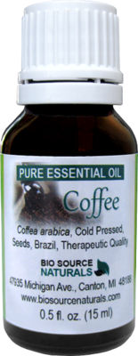 Coffee (Coffea arabica) Pure Essential Oil