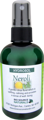Hydrosol Neroli – Calming Spray 4 fl oz (120 ml)