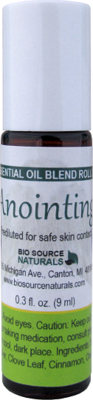 Anointing Essential Oil Blend - 0.3 fl oz (9 ml) Roll On