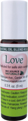 Love Essential Oil Blend - 0.3 fl oz (9 ml) Roll On