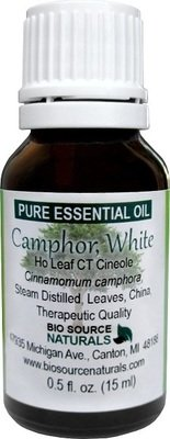 Camphor, White Pure Essential Oil - Ho Leaf CT Cineole