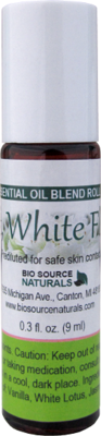 Soft, White Floral Essential Oil Blend - 0.3 fl oz (9 ml) Roll On