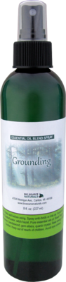 Grounding Pure Essential Oil - 8 fl oz (227 ml) Spray