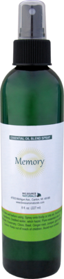 Memory Essential Oil Blend - 8 fl oz (227 ml) Spray