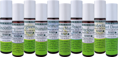 Success Set to Attract Abundance - 10 Essential Oil Blend Roll Ons - 0.3 fl oz (9 ml)