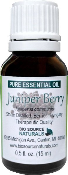 Juniper Berry  (Hungary) Pure Essential Oil with GC Report
