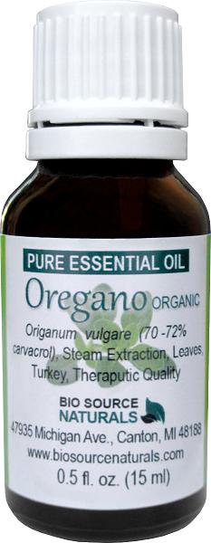 Oregano, Turkey Pure Essential Oil -  Organic -  with GC Report